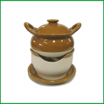 トムヤム鍋(陶器製)上下